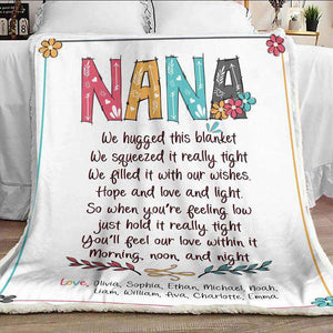 Personalized  Flora Blanket 17