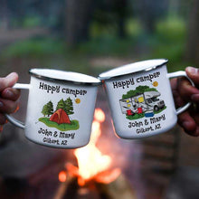 Load image into Gallery viewer, Personalized Happy Campers Mugs I02