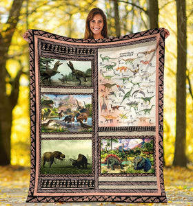 Custom Education Blanket I05 - Future Paleontologist