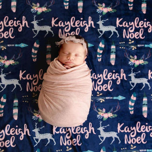 Baby Swaddle Fleece Blanket VII 09
