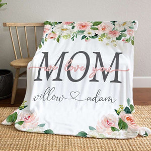 Personalized  Flora Blanket 12
