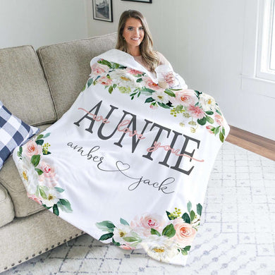 Personalized  Flora Blanket 14