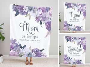 Personalized  Flora Blanket 33