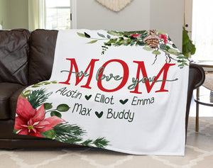 Personalized  Flora Blanket 25