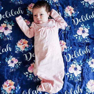 Baby Swaddle Fleece Blanket VI 07