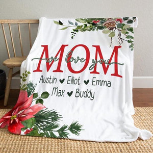 Personalized Christmas Day&Thanks Giving Day Blanket 25