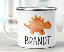 Load image into Gallery viewer, Personalized Kids Mug04 - Dinosaur