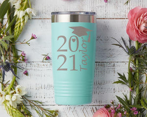 Personalized Graduation Class of 2021 Bottle 02