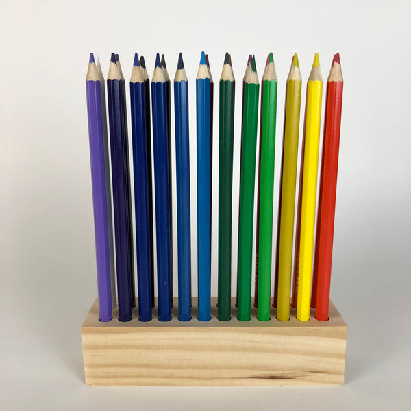 Colored Pencil Holder - Organizer for 24 Colored Pencils