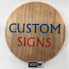 Custom Small Business Signs for Your Shop or Booth - Created From Your Logo