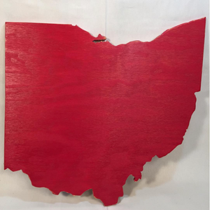 Medium Ohio Sign - Proudly Display Your State - M Size