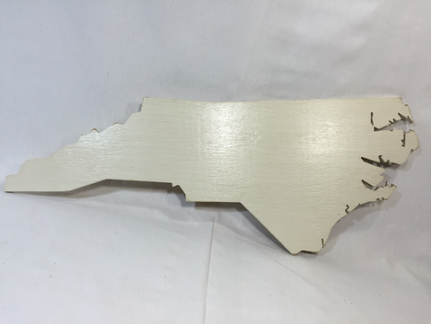 Extra Large North Carolina Sign - NC Proudly Display Your State - XL Size