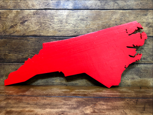 Large North Carolina Sign - NC Proudly Display Your State - L Size