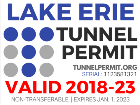 Lake Erie Tunnel Permit