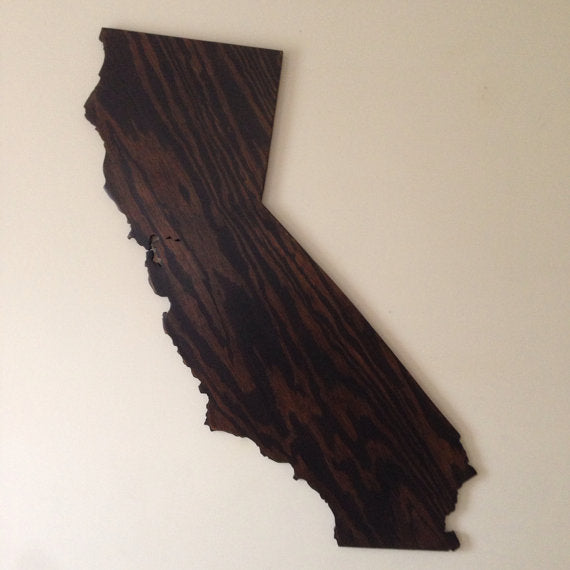 Small California Sign - Proudly Display Your State - S Size CA