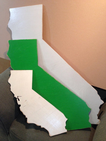 Medium California Sign - Proudly Display Your State - M Size CA