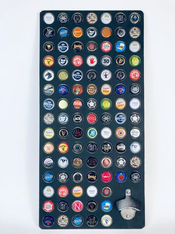 99 Bottles of Beer - Large Bottle Cap Display with Opener