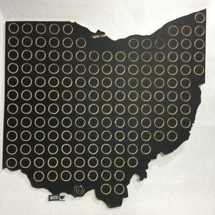 Ohio Bottle Cap Holder