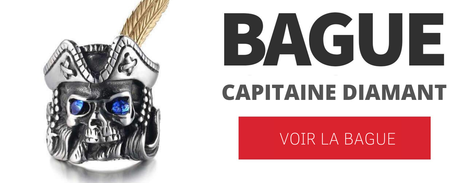 Bague capitaine diamant