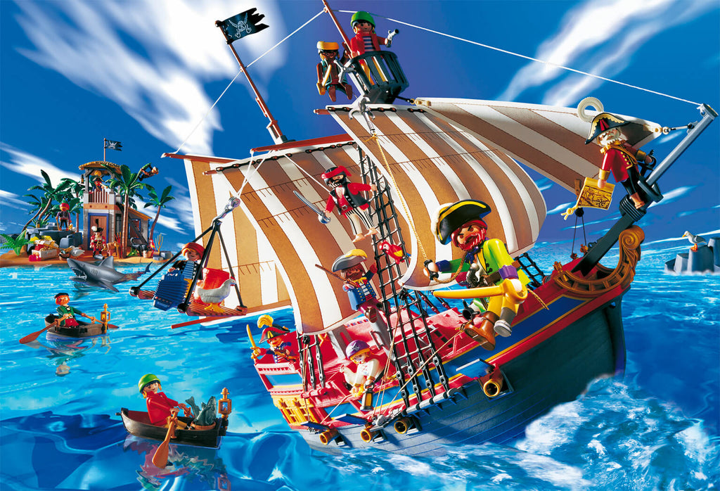 collection playmobil pirate