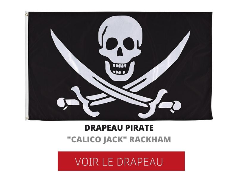 drapeau pirate calico jack rackham