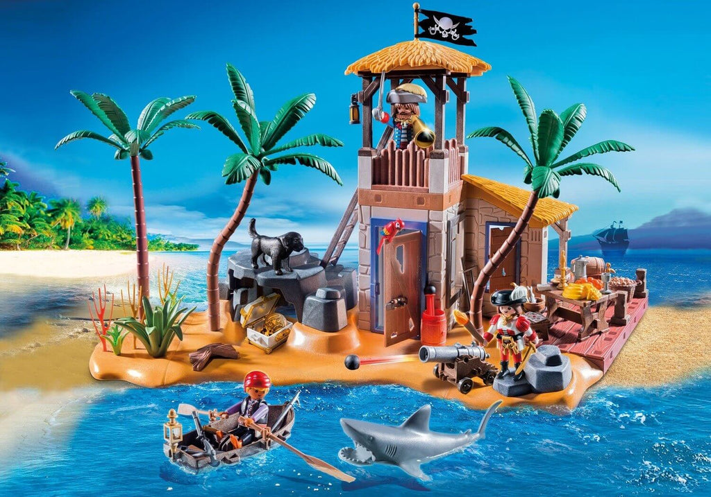 ile pirate playmobil