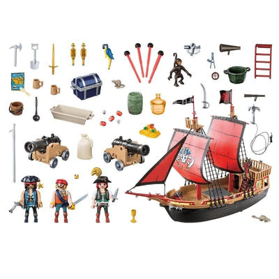 Bateau-Pirate-Playmobil-70411-piece