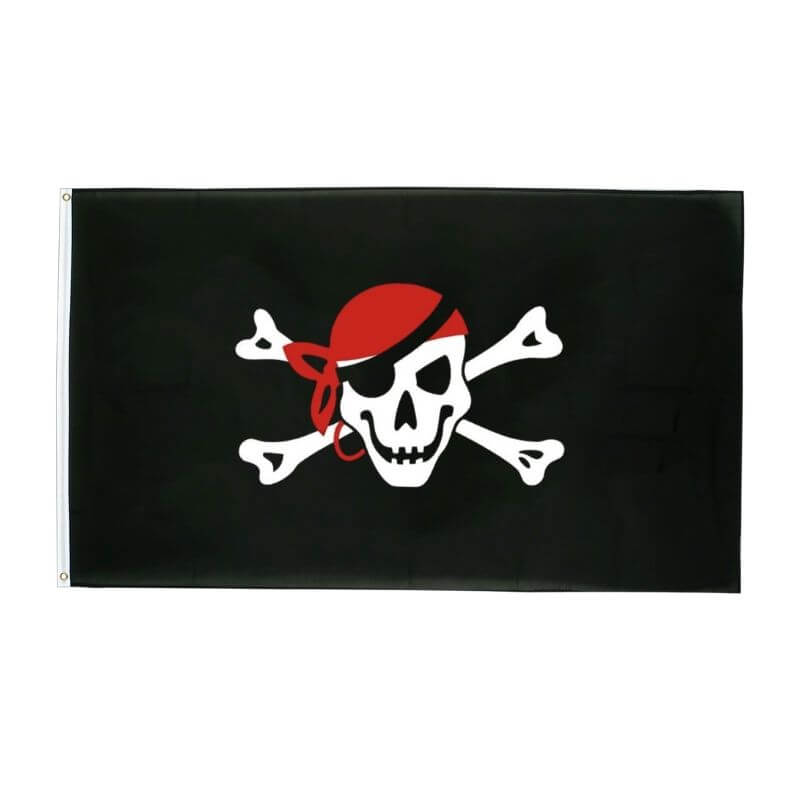Drapeau Pirate - Borgne