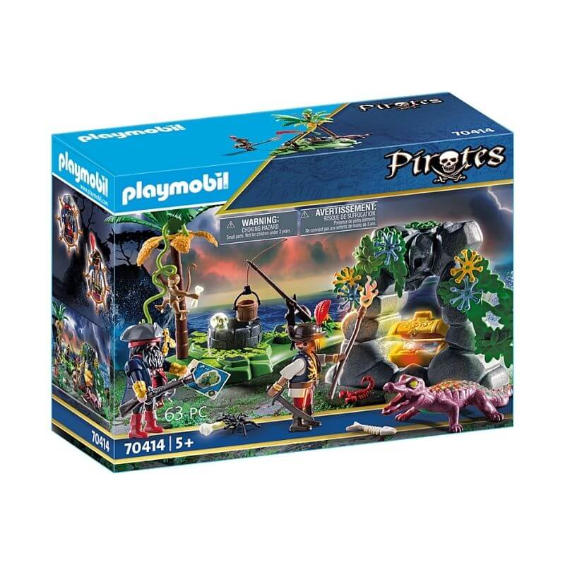 PLAYMOBIL 70414 - Repaire Du Trésor Du Pirate