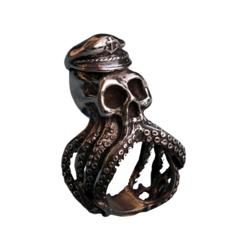 Bague Pirate<br>Pieuvre