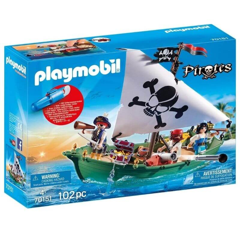 PLAYMOBIL 70151 - Bateau Pirate