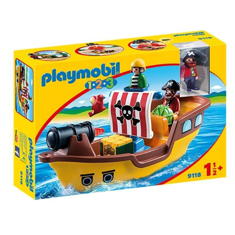 PLAYMOBIL 9118 - Bateau Pirate