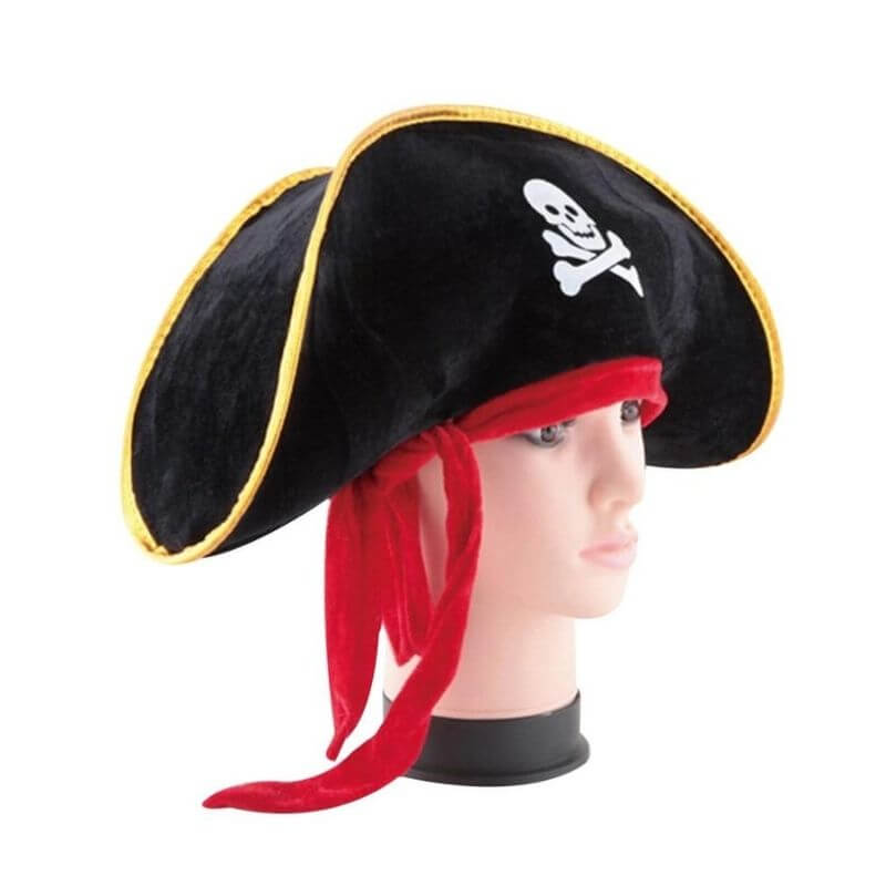 Chapeau Pirate - Capitaine des 7 mers