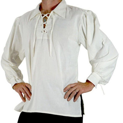 chemise-pirate-simple-blanche