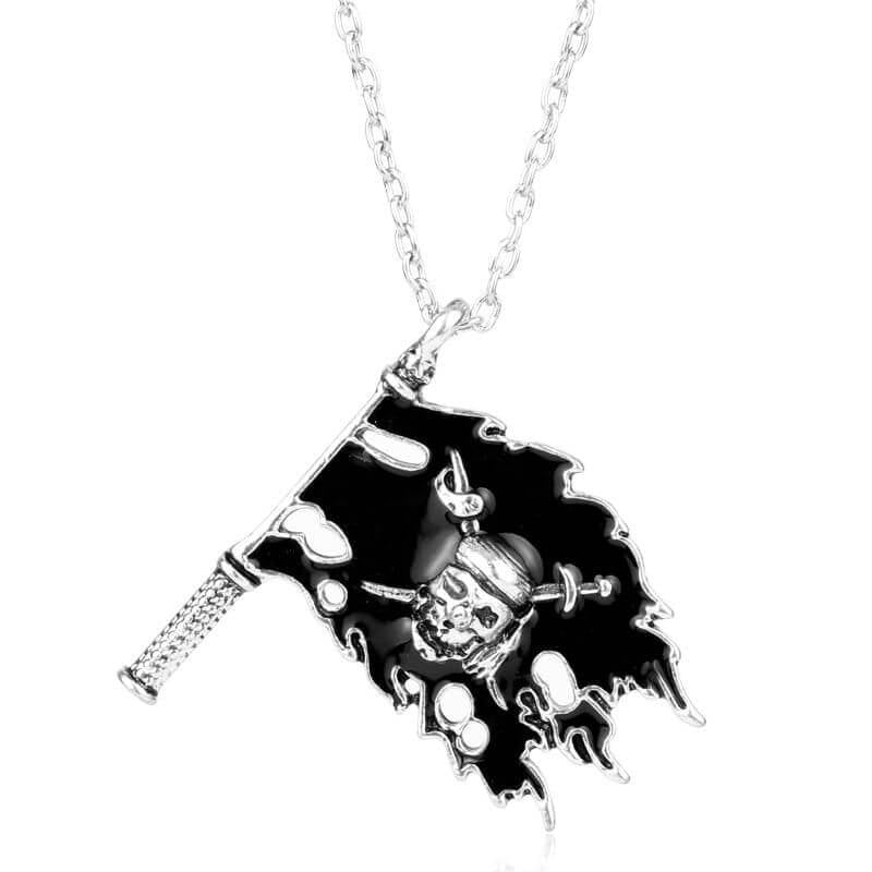 Collier Pirate - Drapeau Pirate