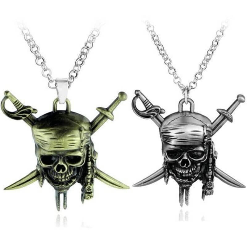 Collier Pirate - Jack Sparrow