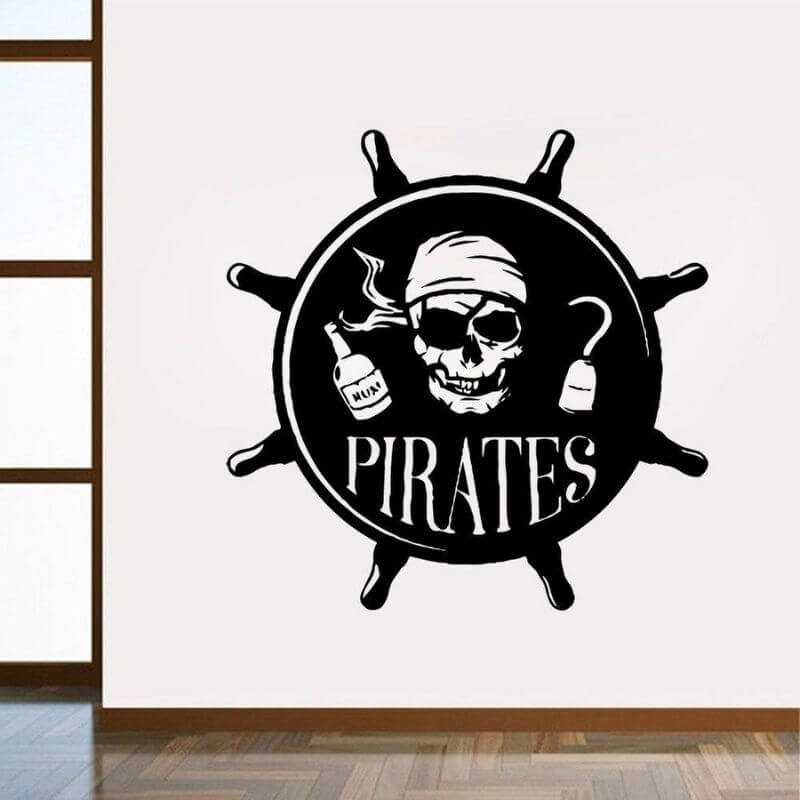 Stickers Pirate - Chambre