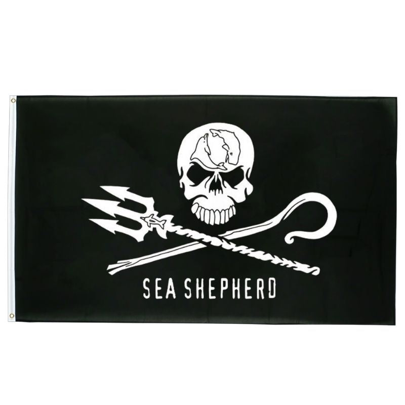 Drapeau Pirate - Sea Shepherd
