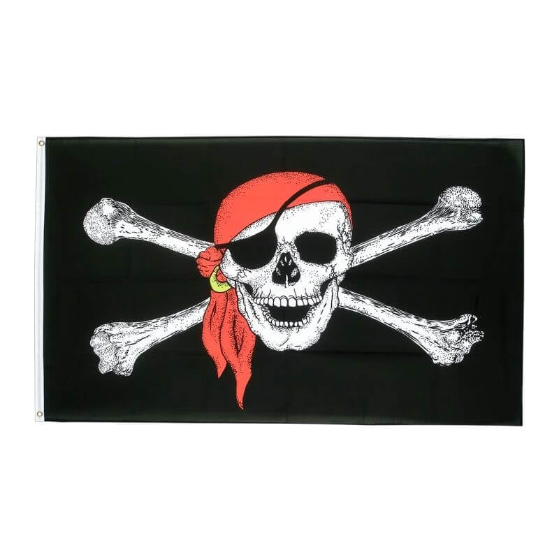 Drapeau Pirate - Black Pearl