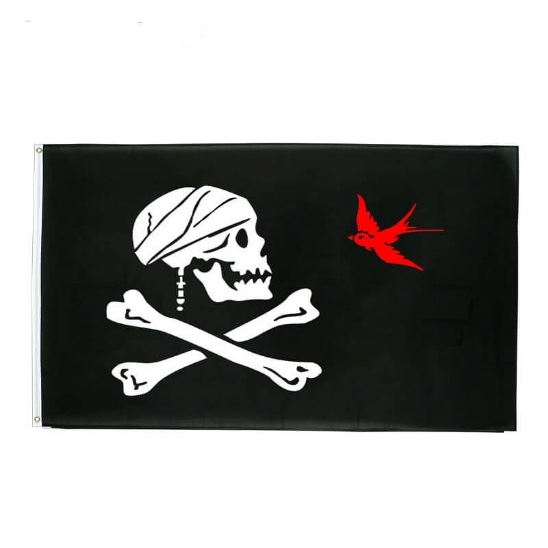 Drapeau Pirate - Jack Sparrow