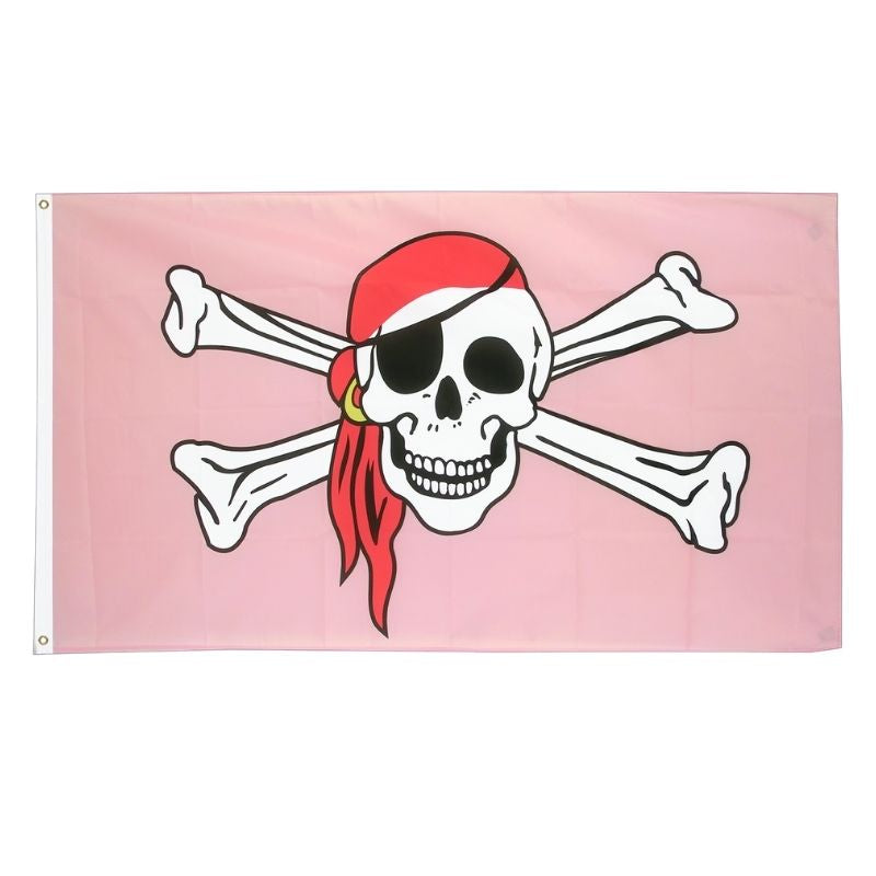 Drapeau Pirate - Princesse Rose