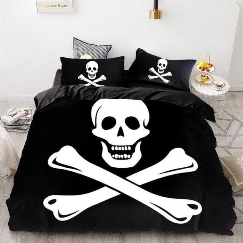 Housse De Couette Pirate - Jolly Roger