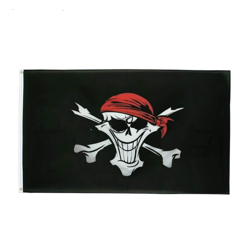 Drapeau Pirate - Interdit