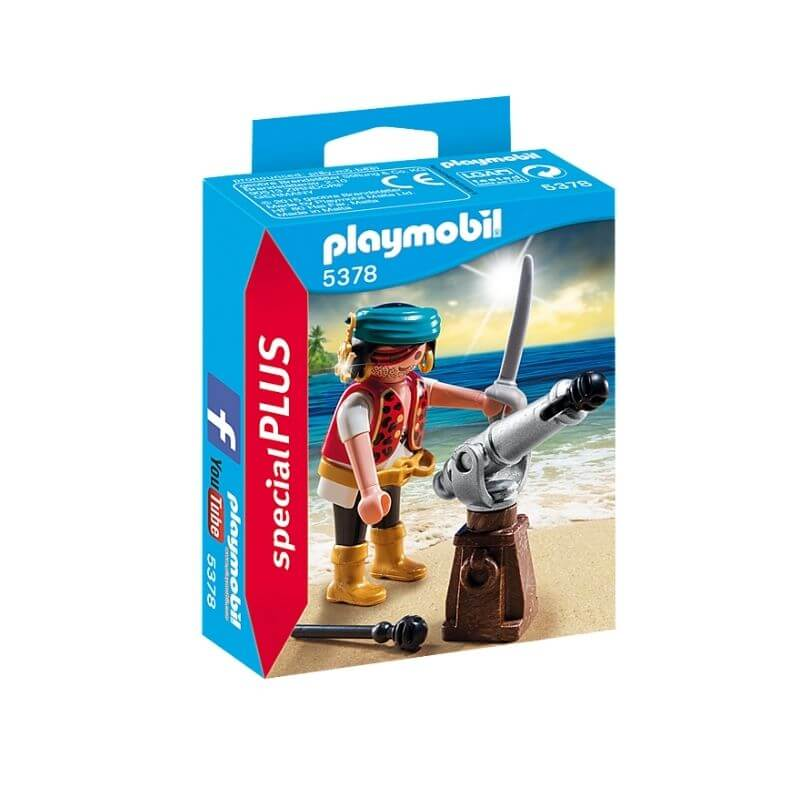 PLAYMOBIL 5378 - Canonnier Pirate