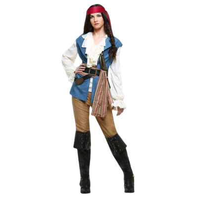 deguisement pirate femme taille l