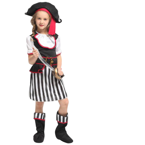 deguisement pirate fille 8 ans