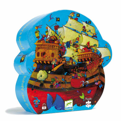 puzzle djeco pirate
