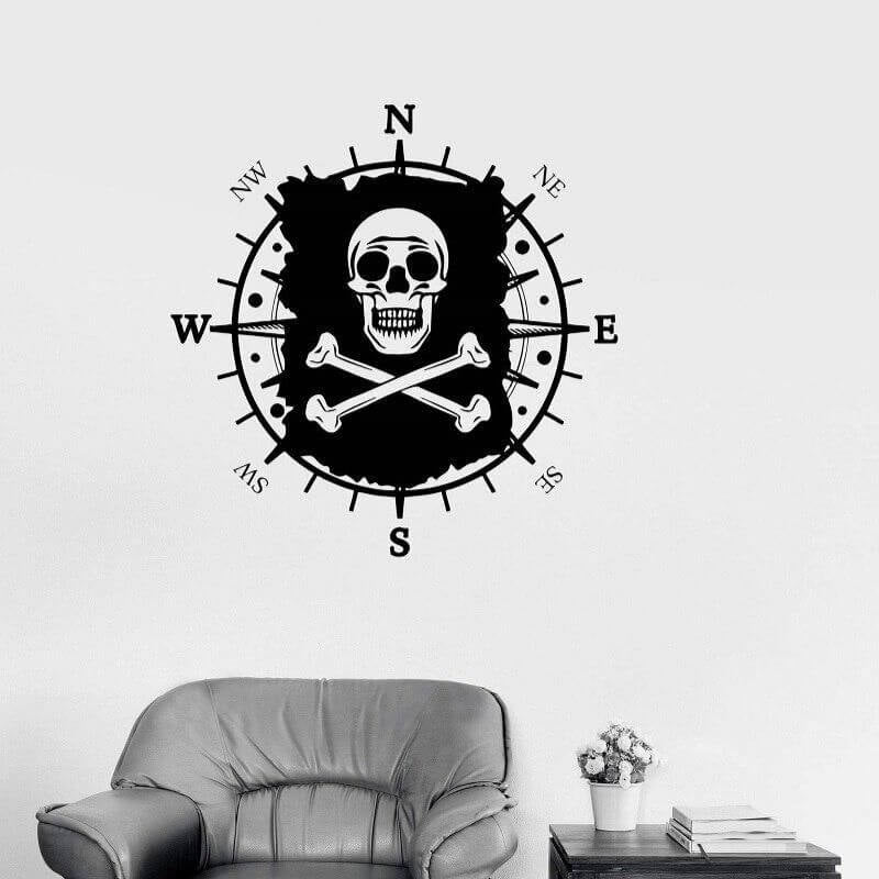 Stickers Pirate - Chair de poule