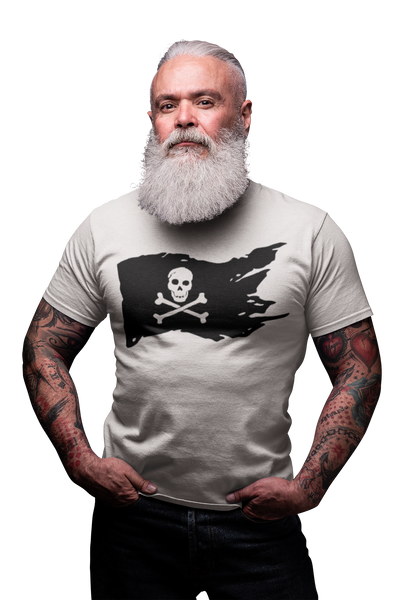 tee shirt drapeau pirates