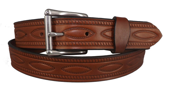 Oval Rivet Belt